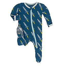 KicKee Pants® Toddler Twilight Rockets Footie Pajama
