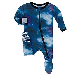 KicKee Pants® Galaxy Footie Pajama in Purple