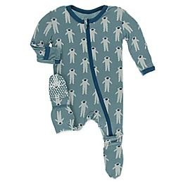 KicKee Pants® Astronaut Footie Pajama in Dusty Sky