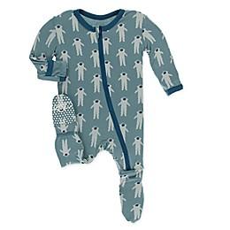 KicKee Pants® Toddler Astronaut Footie Pajama in Dusty Sky