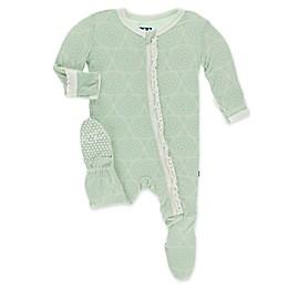 KicKee Pants® Venus Orbit Footie Pajama in Green