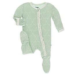 KicKee Pants® Toddler Venus Orbit Footie Pajama in Green