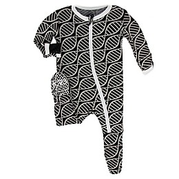 KicKee Pants® Toddler Double Helix Footie Pajama in Midnight
