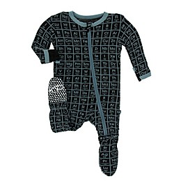 KicKee Pants® Toddler Elements Footie Pajama in Midnight