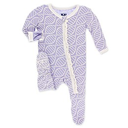 KicKee Pants® Toddler Double Helix Footie Pajama in Lilac