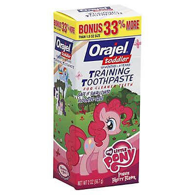 Orajel™ 1.5 oz. My Little Pony Toddler Toothpaste