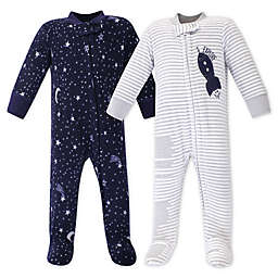 Yoga Sprout 2-Pack Spaceship Sleep N' Play Footies