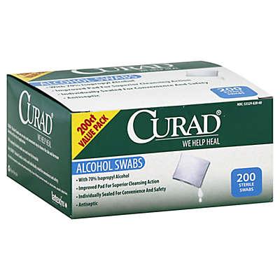 Curad® 200-Count Alcohol Swabs