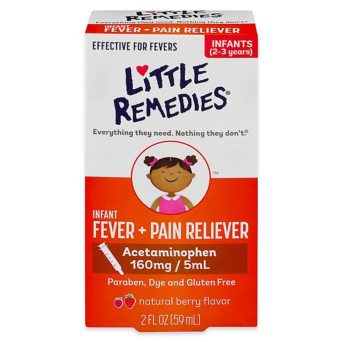 Alternate image 1 for Little Remedies® Little Fevers 2 oz. Dye-Free Infant Fever/Pain Reliever in Natural Berry Flavor