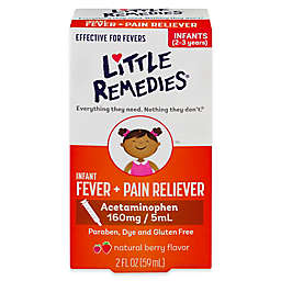 Little Remedies® Little Fevers 2 oz. Dye-Free Infant Fever/Pain Reliever in Natural Berry Flavor