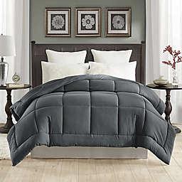 Tahari Prewashed Down Alternative Full/Queen Comforter in Steel Grey