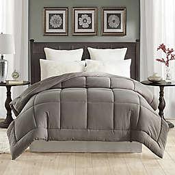 Tahari Prewashed Down Alternative King Comforter in Driftwood