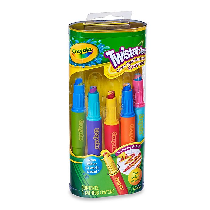 Alternate image 1 for Crayola® Play Visions Twistables 5-Pack Color Swirl Crayons