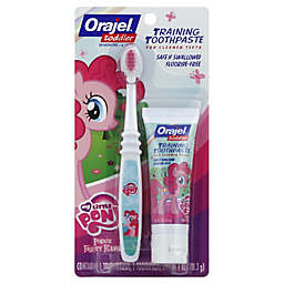 Orajel™ My Little Pony Training Toothpaste with Brush in Pinkie Fruity Flavor