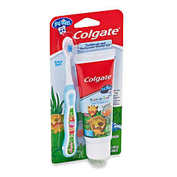 Colgate My First Toothpaste and Toothbrush Combo Pack in Green