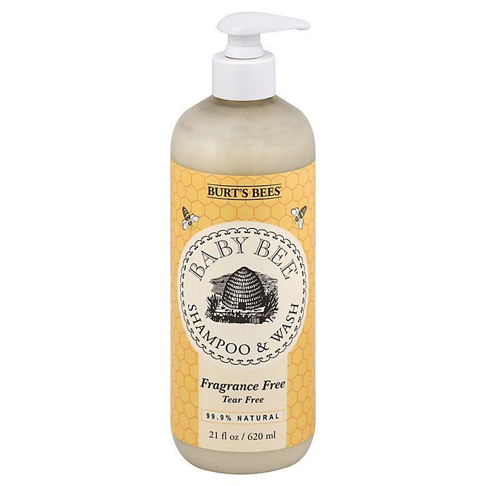 a020bea0c Burt s Bees® Baby Bee® 21 oz. Fragrance-Free Baby Shampoo   Wash ...