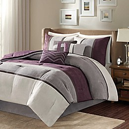 Madison Park Palisades 7-Piece Reversible Comforter Set
