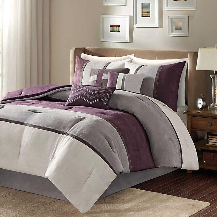 Alternate image 1 for Madison Park Palisades 7-Piece Reversible Comforter Set