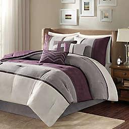 Madison Park Palisades 7-Piece Reversible Comforter Set