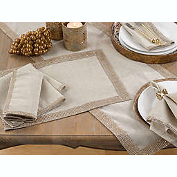 Saro Lifestyle Studded Table Linen Collection