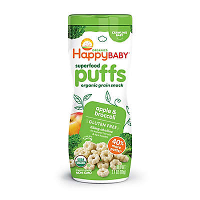 Happy Baby™ Happy Puffs™Organic 2.1 oz. Puffs in Apple