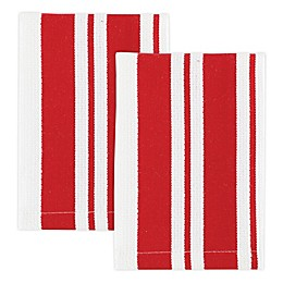 MÜ Kitchen Cotton Striped Dish Cloths (Set of 2)