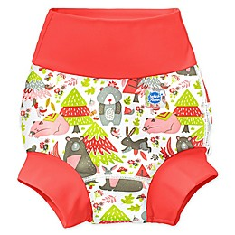 Splash About Happy Nappy™ Into the Woods Swim Diaper in Red