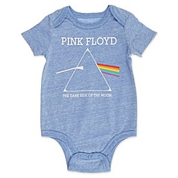 Live Nation Pink Floyd Newborn Bodysuit in Blue