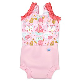 Splash About Happy Nappy Owl and Pussycat Swimsuit in Pink