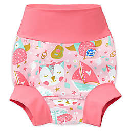 Splash About Happy Nappy™ Owl and the Pussycat Swim Diaper in Pink