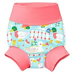 Splash About Happy Nappy Little Ducks Swim Diaper in Blue