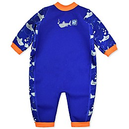 Splash About Warm-In-One Long Sleeve Shark Wetsuit in Blue