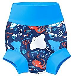 Splash About Happy Nappy Under the Sea Swim Diaper in Blue