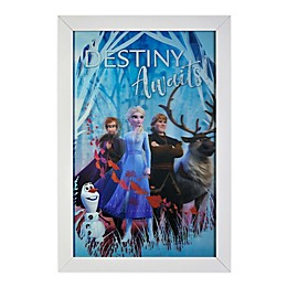 Disney® Frozen 2 Destiny Awaits 19-Inch x 13-Inch Framed 3D Lenticular