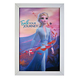 Disney® Frozen 2 Trust Your Journey 19-Inch x 13-Inch Framed 3D Lenticular