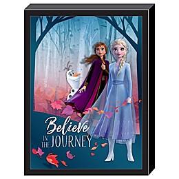 Disney® Frozen 2 3D Believe in the Journey 15-Inch x 20-Inch Framed Wall Art