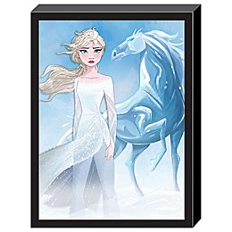 Disney® Frozen 2 3D Elsa and The Nokk 15-Inch x 20-Inch Framed Wall Art