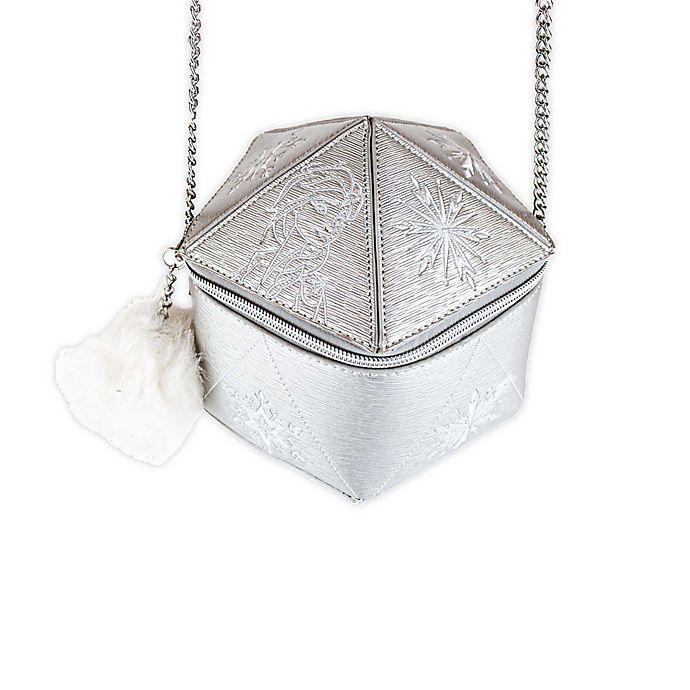Alternate image 1 for Disney Danielle Nicole® Frozen Handbag in Silver