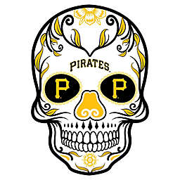 MLB Pittsburgh Pirates Large Skull Graphic Decal