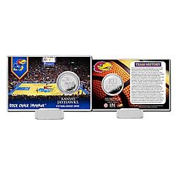 University of Kansas Basketball Team History Silver Coin Card