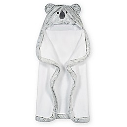 Gerber® Just Born® Koala Hooded Towel in Grey