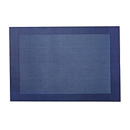 Finn Vinyl Placemats in Blue (Set of 6)