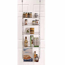SALT™ Over-the-Door 5-Shelf Pantry Organizer in White