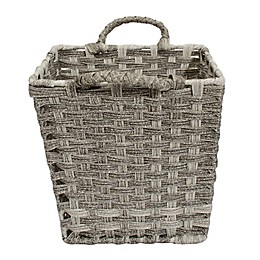 Relaxed Living Woven Faux Rattan 11-Inch Storage Basket