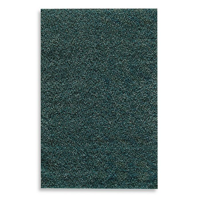 Rugs America Cambria Expo Shag Rug In Blue And Teal