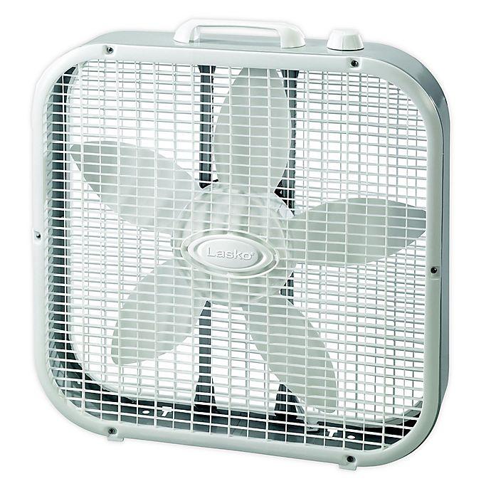 Alternate image 1 for Lasko® 20-Inch 3-Speed Box Fan in Grey