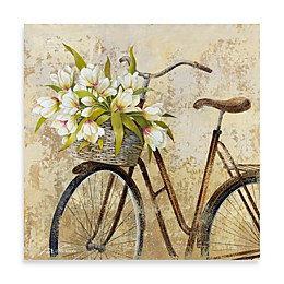 Fabrice de Villeneuve Studio Ride to Flower Market Wall Art