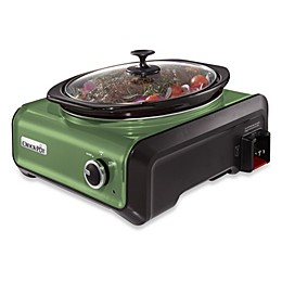 Crock-Pot® 3.5-Quart Oval Hook Up™ Connectable Entertaining System in Sage