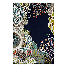Momeni® New Wave 8' x 11' Handcrafted Area Rug in Navy