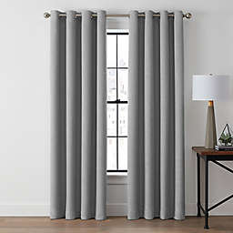 Brookstone® Zadie 95-Inch Grommet 100% Blackout Window Curtain Panel in Slate Grey